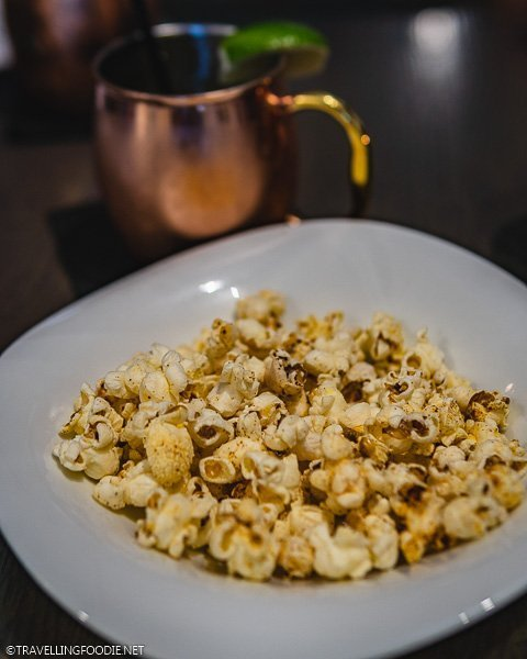 Pear Ginger Beer and Popcorn at Four By Brother Luck in Colorado Springs