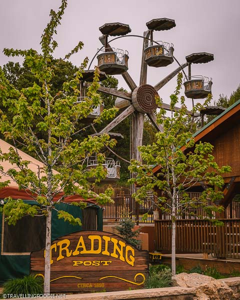 Trading Post and Ferris Wheel at Glenwood Caverns Adventure Park