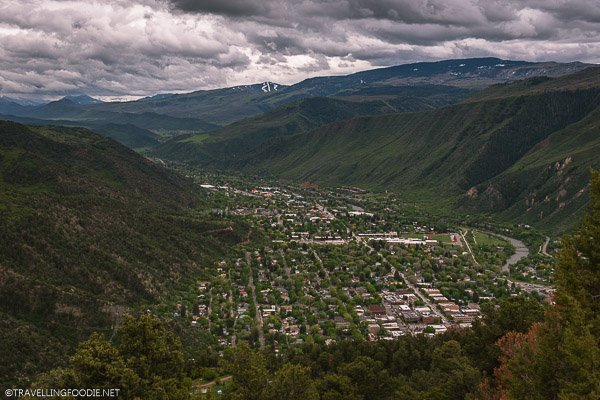 Panoramic View of Peaks and Mountains of Glenwood Springs