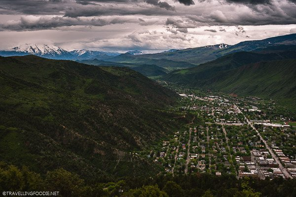View of Mountains, Peaks and Glenwood Springs