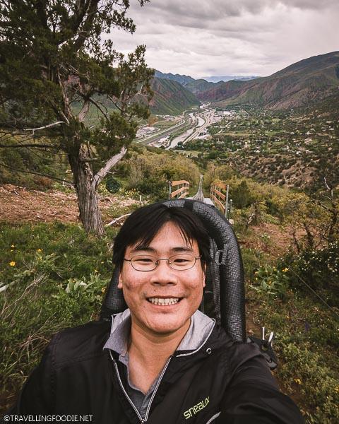 Travelling Foodie Raymond Cua Selfie at Glenwood Caverns Adventure Park