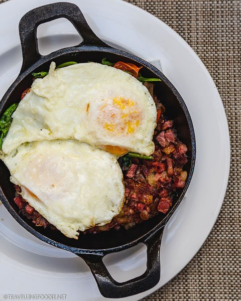 Buffalo Hash at Hotel Colorado Restaurant and Bar in Glenwood Springs