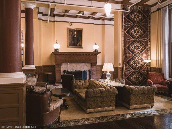 Lobby at Hotel Colorado in Glenwood Springs