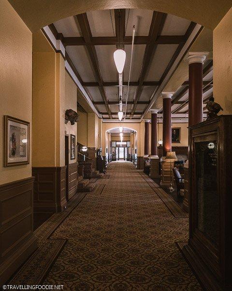 Hallway at Hotel Colorado in Glenwood Springs