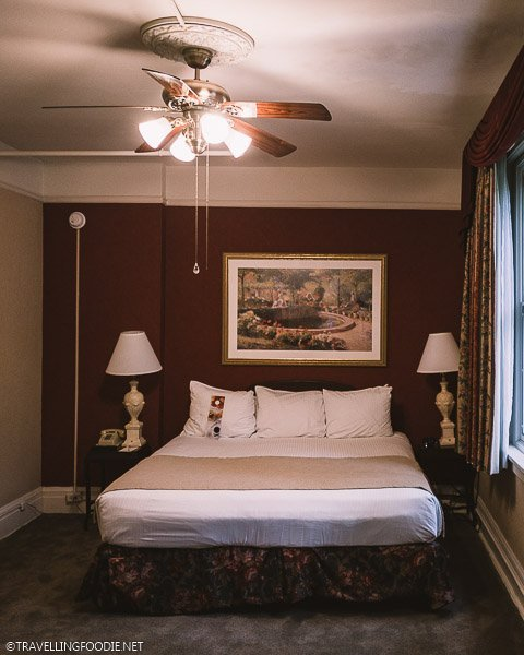 Ambassador Suite Bedroom at Hotel Colorado in Glenwood Springs