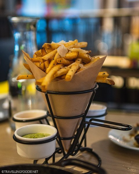Truffle Fries at Limelight Lounge Snowmass