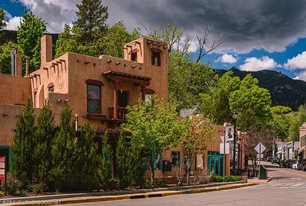 Downtown of Resort City, Manitou Springs, Colorado