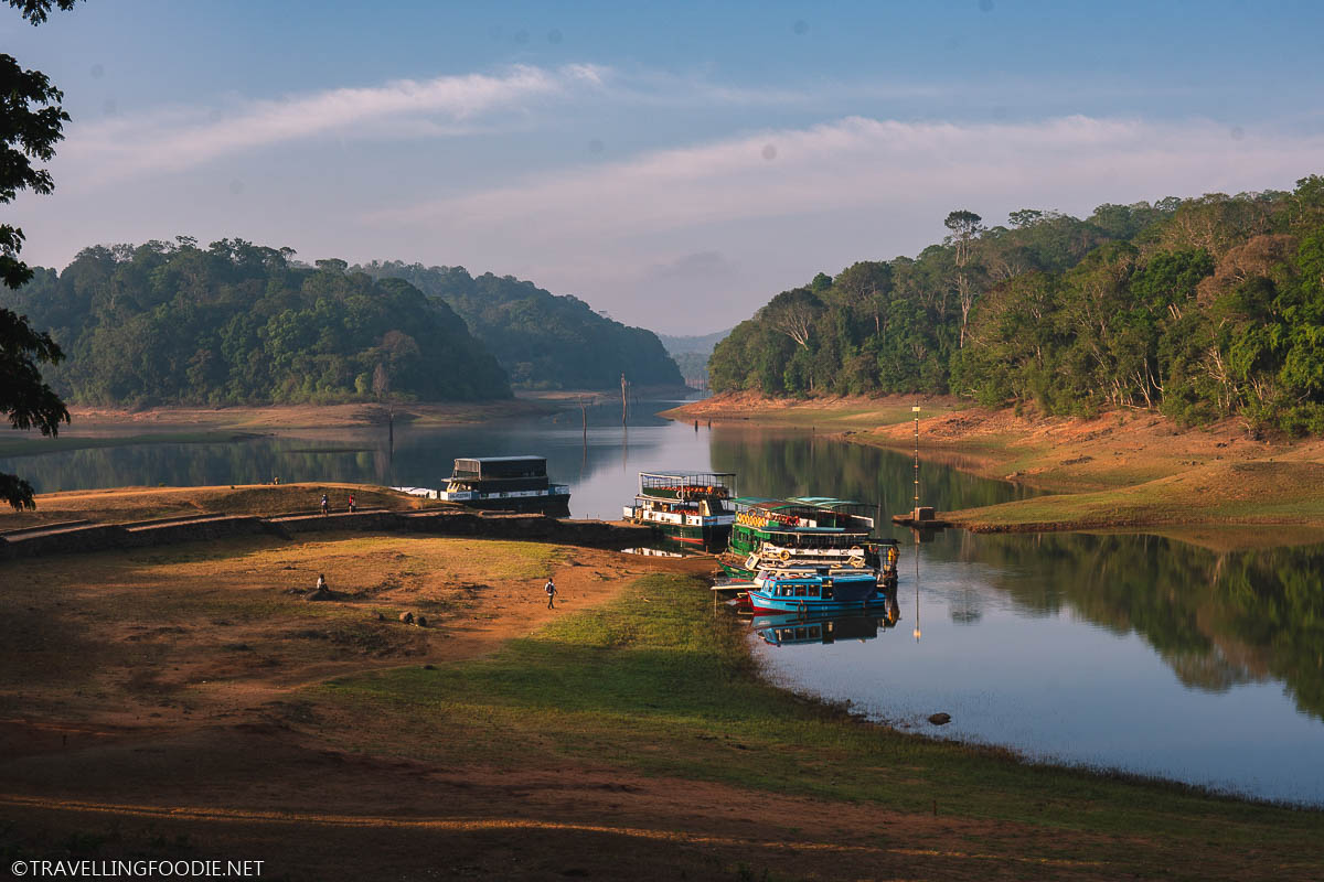 Boat Cruise at Periyar National Park Thekkady India
