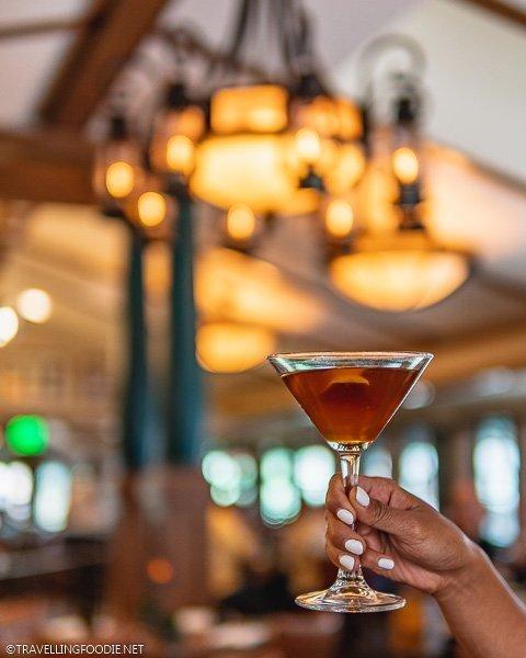 Sazerac Cocktail at Restaurant 1858 at the Broadmoor in Colorado Springs