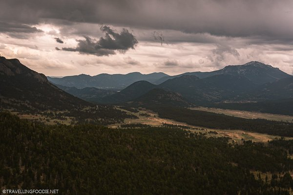 Cloudy Day at Rocky Mountain National Park