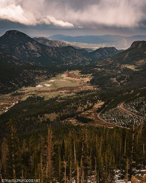 Rainbow Curve Overlook at Rocky Mountain National Park, Colorado