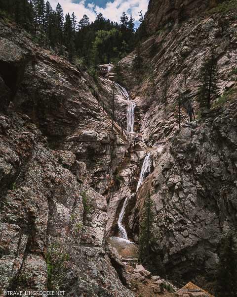 Seven Falls in Colorado Springs