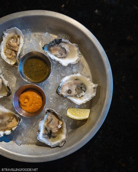 Fresh Oysters at Smorbrod in Colorado Springs