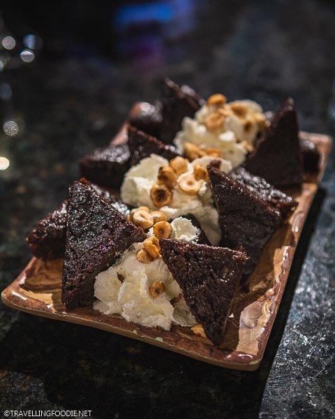 Chocolate Brownie Dessert at Smorbrod in Colorado Springs