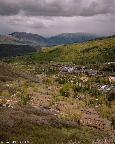 View of Snowmass with Green Mountains from the Yin Yang Point trail