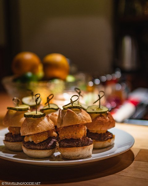 Beef Sliders at The Archives at Colorado Craft Social in Colorado Springs