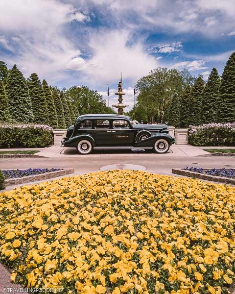 Cadillac Car at The Broadmoor in Colorado Springs