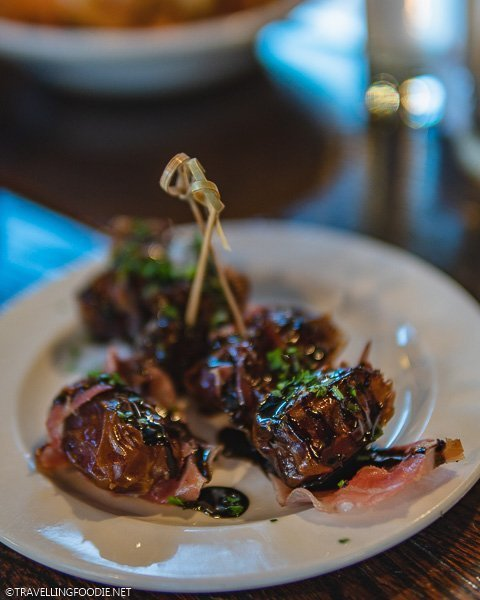 Bacon-wrapped Dates at The Pullman in Glenwood Springs
