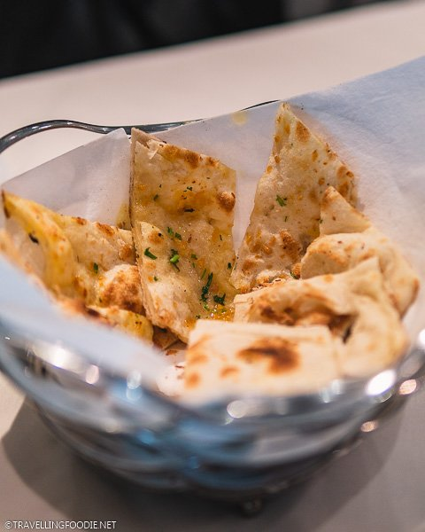 Garlic Naan at The Song of India in Singapore