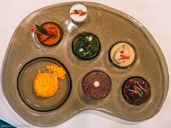 Art Platter Course at The Song of India in Singapore