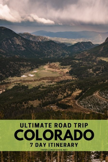 Ultimate Road Trip Colorado 7 Day Itinerary with Denver, Estes Park, Steamboat Springs, Glenwood Springs, Snowmass and Colorado Springs