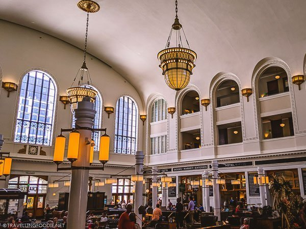 Inside Union Station in Downtown Denver, Colorado
