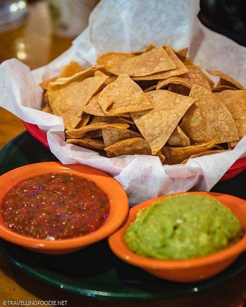 Tortilla Chips, Salsa and Guac at Woody Creek Tavern, Snowmass