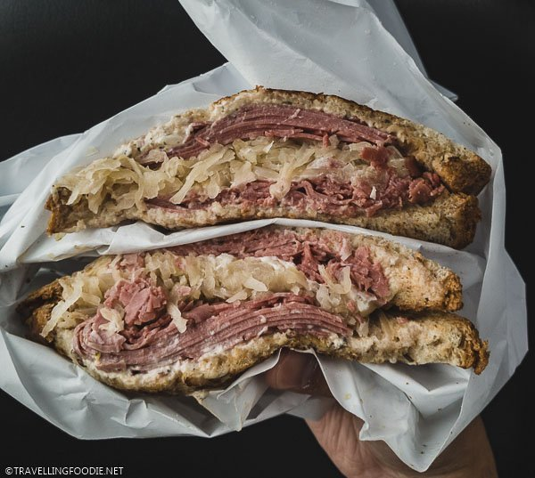 Corned Beef Sandwich at Yampa Sandwich at Steamboat Springs