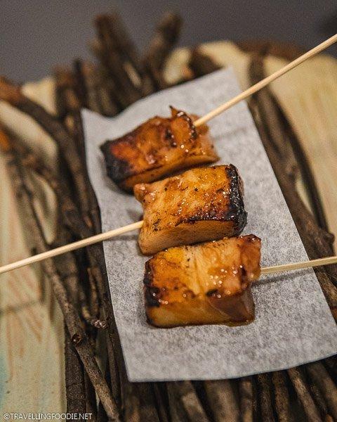 Grilled Pork Cheek on Stick