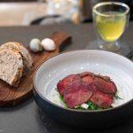 Quebec Horse, Sourdough Bread and Green Tea