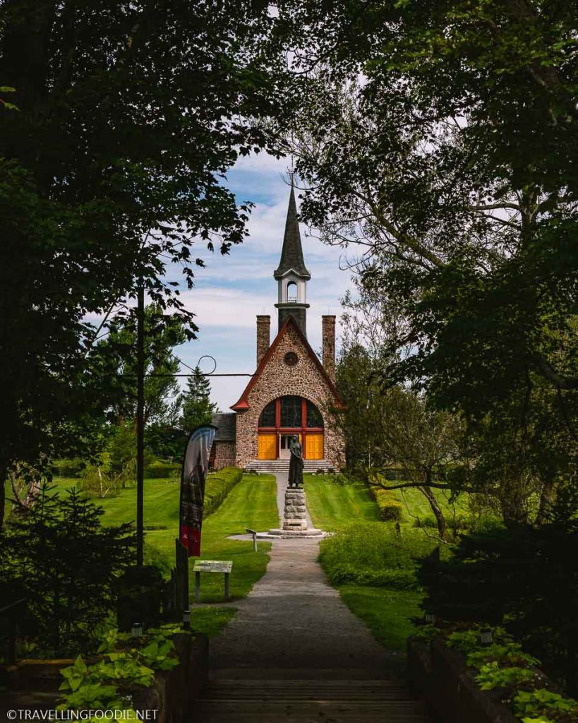 Memorial Church at Grand Pre National Historic Site in Nova Scotia
