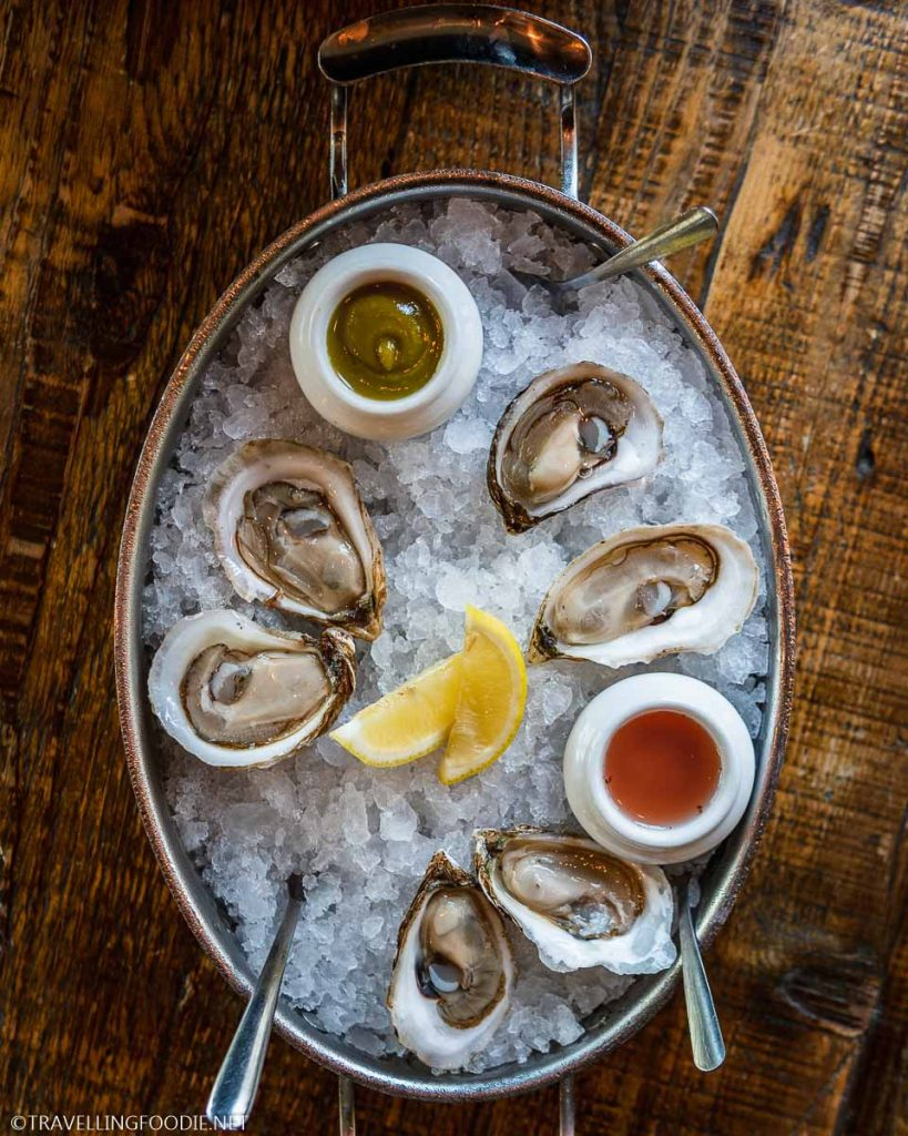Fresh Shucked Maritime Oysters from Nova Scotia, New Brunswick and PEI at Shuck Halifax