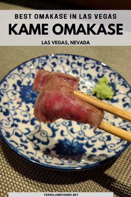 Kame Omakase, Best Omakase in Las Vegas, Nevada | Restaurant Review by Travelling Foodie
