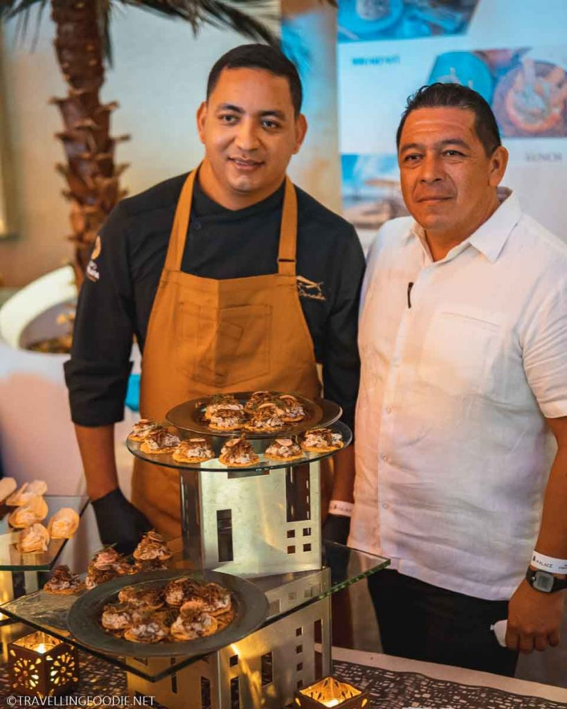 Two Chefs at the Grand Gourmet Village for Puerto Vallarta Festival Gourmet International