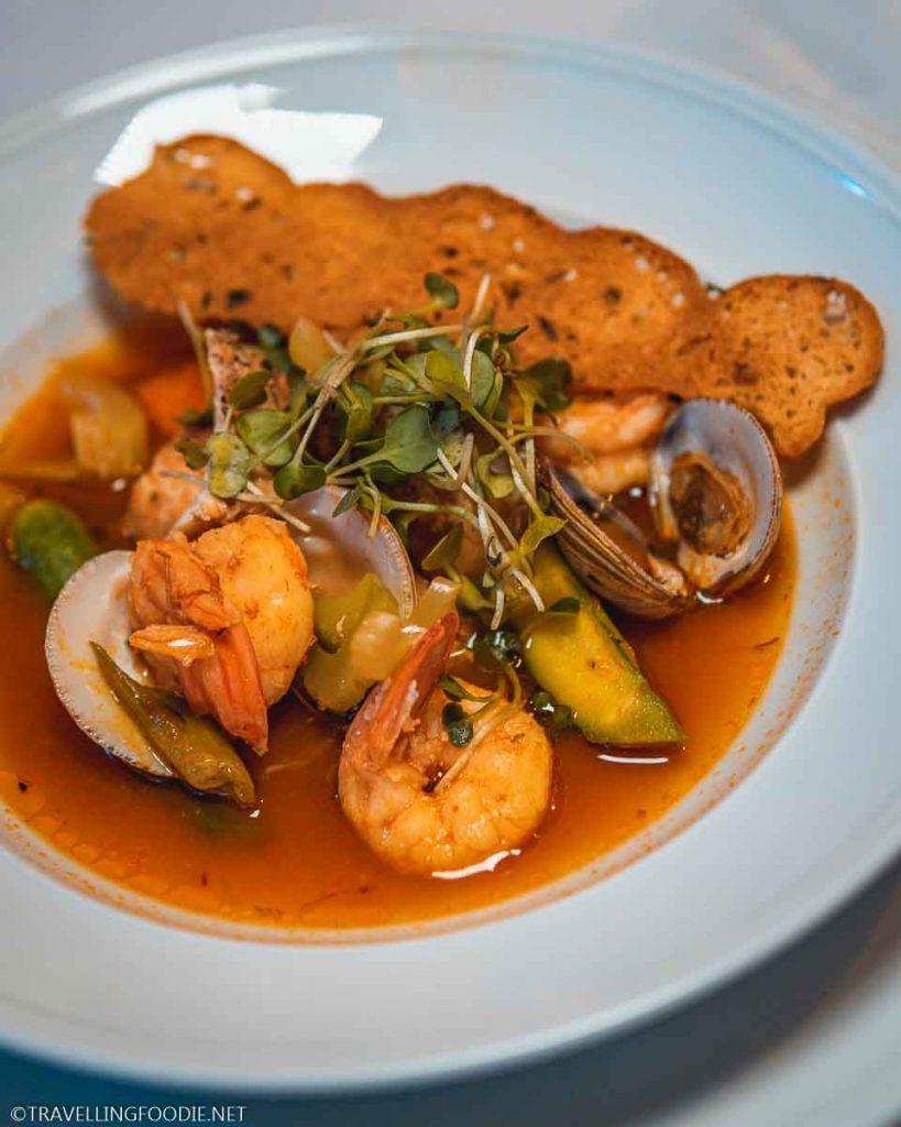 Seafood Bouillabaisse at Trio Restaurant for Puerto Vallarta Festival Gourmet International