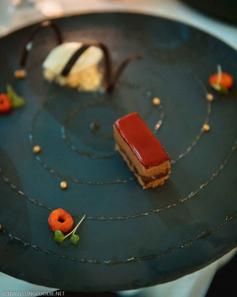 Chocolate Tart Dessert at Cafe des Artistes in Puerto Vallarta, Mexico