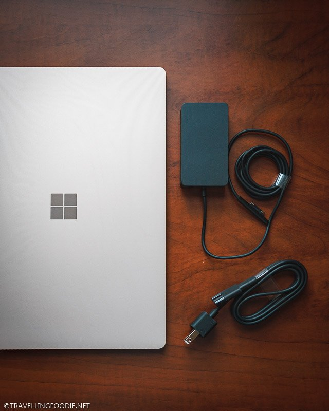 Microsoft Surface Sandstone Laptop 3 and Laptop Charger