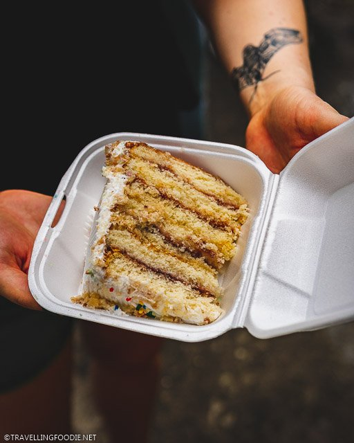 7-Layer Vienna Cake at St. Croix Agriculture and Food Fare in US Virgin Islands