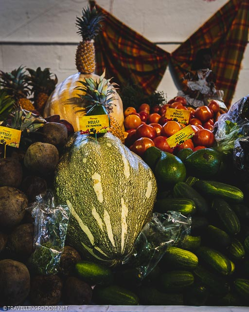 Fresh Produce at US Virgin Islands Agrifest in St. Croix