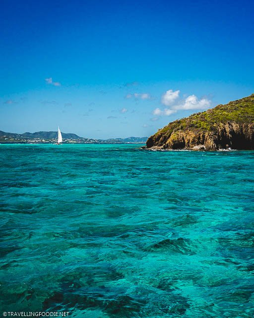 Buck Island Reef National Monument at St. Croix, US Virgin Islands