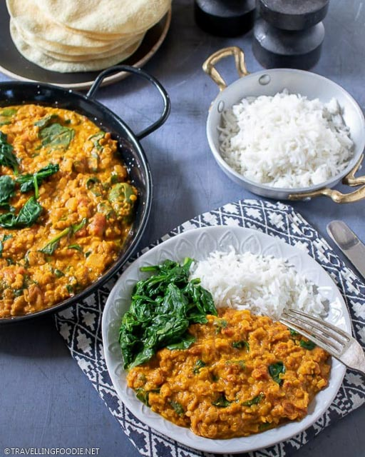 Red Lentil Dahl in Easy 30-Minute Recipes