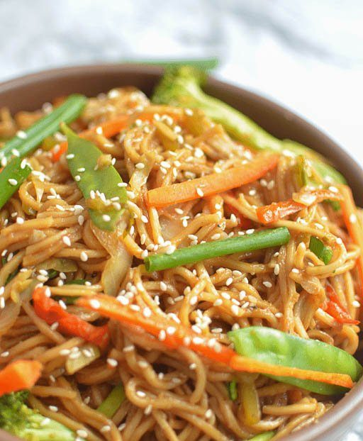 Vegetable Chow Main