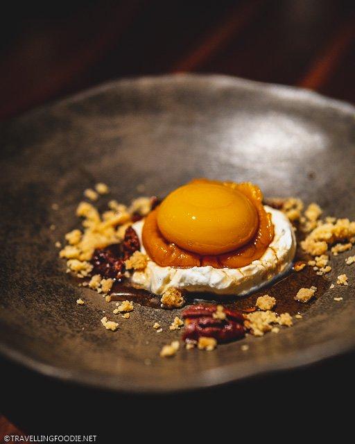 Sweet Potato Pie Dessert at H4C par Dany Bolduc for Montreal en Lumiere 2020 Tasting Menu