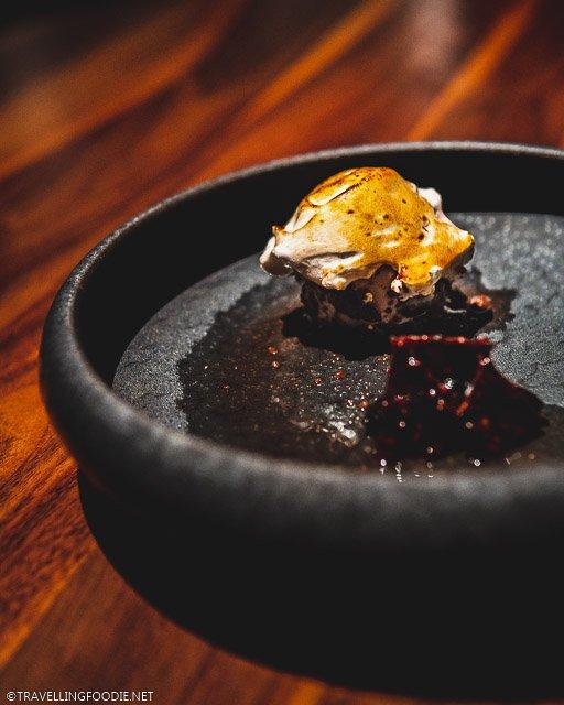 Baked Alaska at H4C par Dany Bolduc for Montreal en Lumiere 2020 Tasting Menu