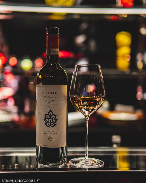 Fiorile by Fondo San Giuseppe Winery at L'Atelier de Joel Robuchon for Montreal en Lumiere 2020 Tasting Menu