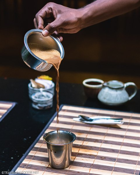 How To Pour Filter Coffee at Maison Perumal in Pondicherry, India