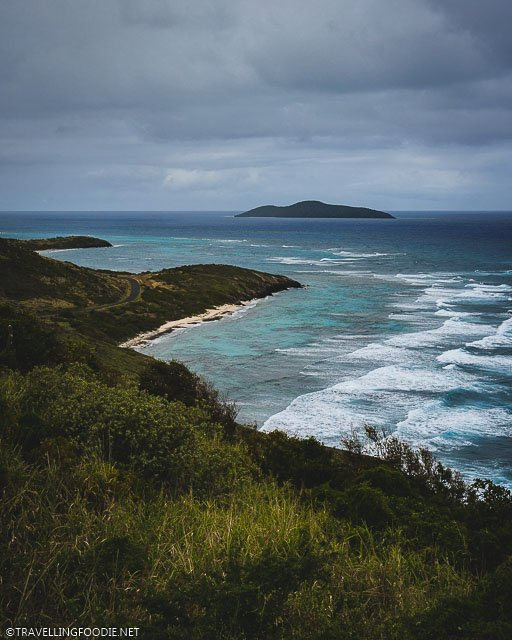 Buck Island View from Point Udall in St. Croix, United States Virgin Islands