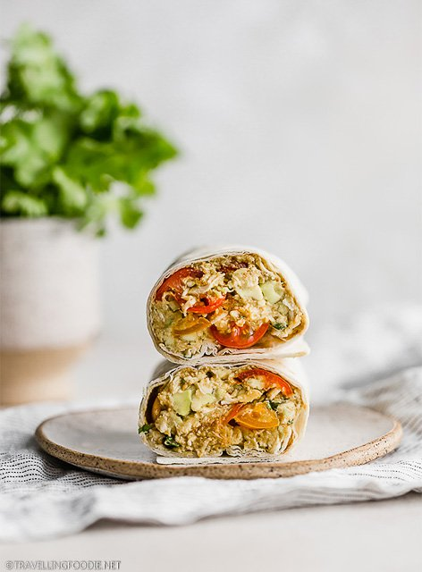Chicken Avocado Wraps