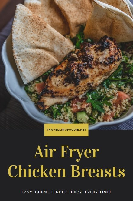 Air Fryer Chicken Breasts - Easy. Quick. Tender. Juicy. Every Time!