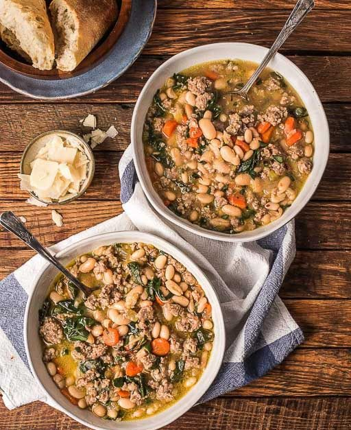 Italian Sausage Stew with White Beans